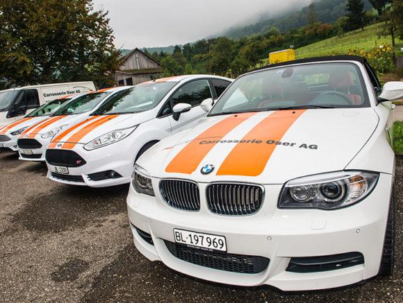 Ersatzwagen Carrosserie Oser Arisdorf