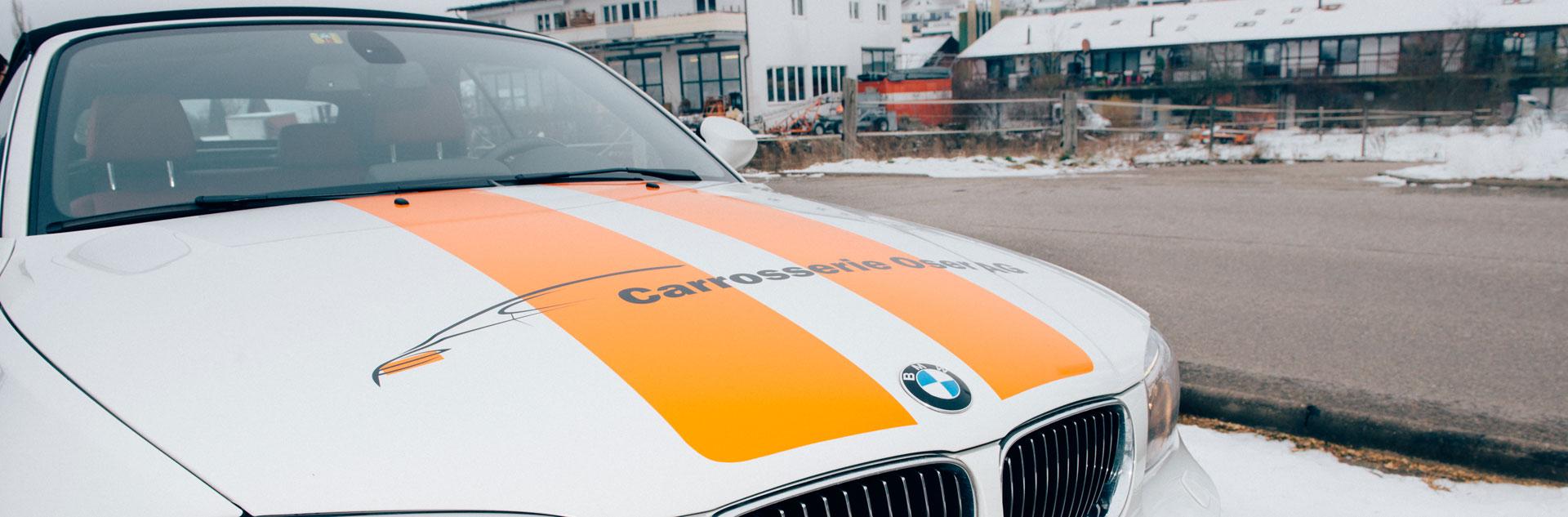 Slider Carrosserie Oser Arisdorf Ersatzwagen